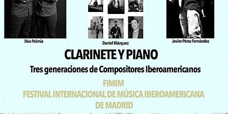Tres generaciones de compositores Iberoamericanos billets