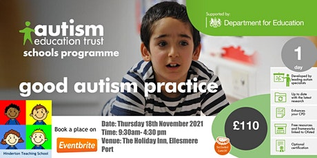 Good Autism Practice in Schools tickets