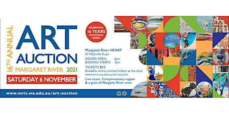 16th Annual Margaret River Art Auction tickets