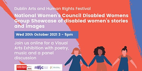 Visual Arts Showcase with disabled women tickets
