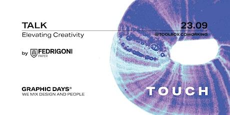 Elevating Creativity | Fedrigoni x Graphic Days® Touch biglietti