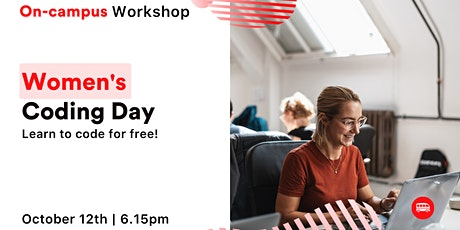 Women's Coding Day - Learn to code for free! tickets