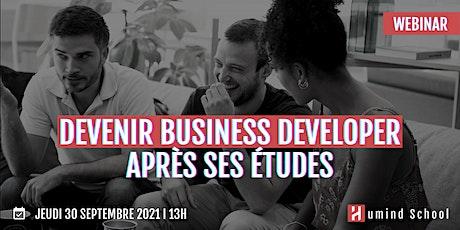 Devenir Business Developer après ses études billets