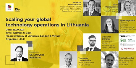 Scaling your global technology operations in Lithuania tickets