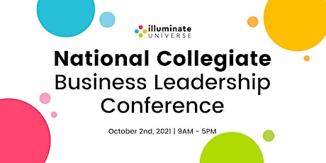 National Collegiate Business Leadership Conference - October 2nd tickets