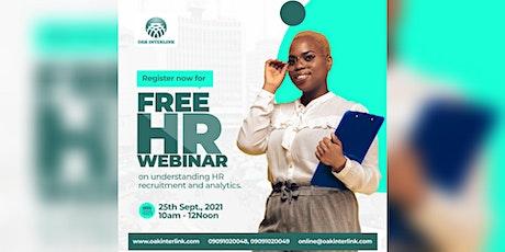 Understanding HR  Recruitment and Analytics tickets