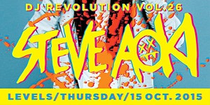 DJ Revolution Vol.29 STEVE AOKI @LEVELS