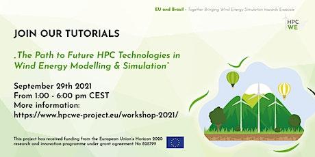 HPCWE Tutorials: The Path to Future HPC Technologies in Wind Energy biglietti