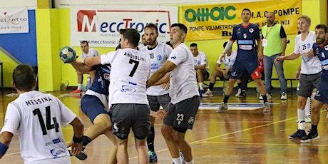 Pallamano Serie A Beretta Maschile Vikings Rubiera-Siracusa biglietti