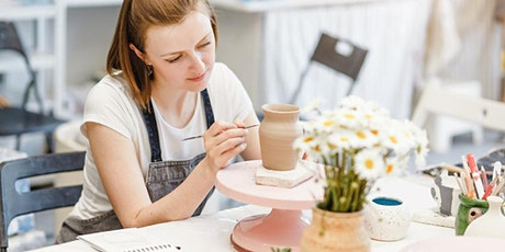 POTTERY WORKSHOP -  Wheel Throwing for ages 13-17 tickets