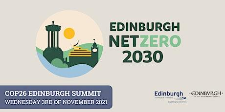 COP26 Edinburgh Summit tickets