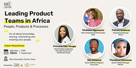 Product Development Event - Learn To Lead Product Teams tickets