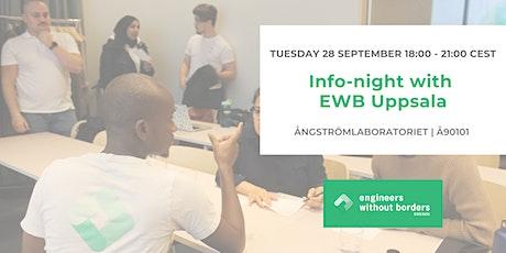 Info-night with EWB Uppsala biljetter