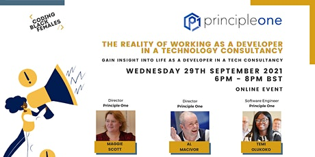 The reality of working as a developer at a tech consultancy - Principle One tickets