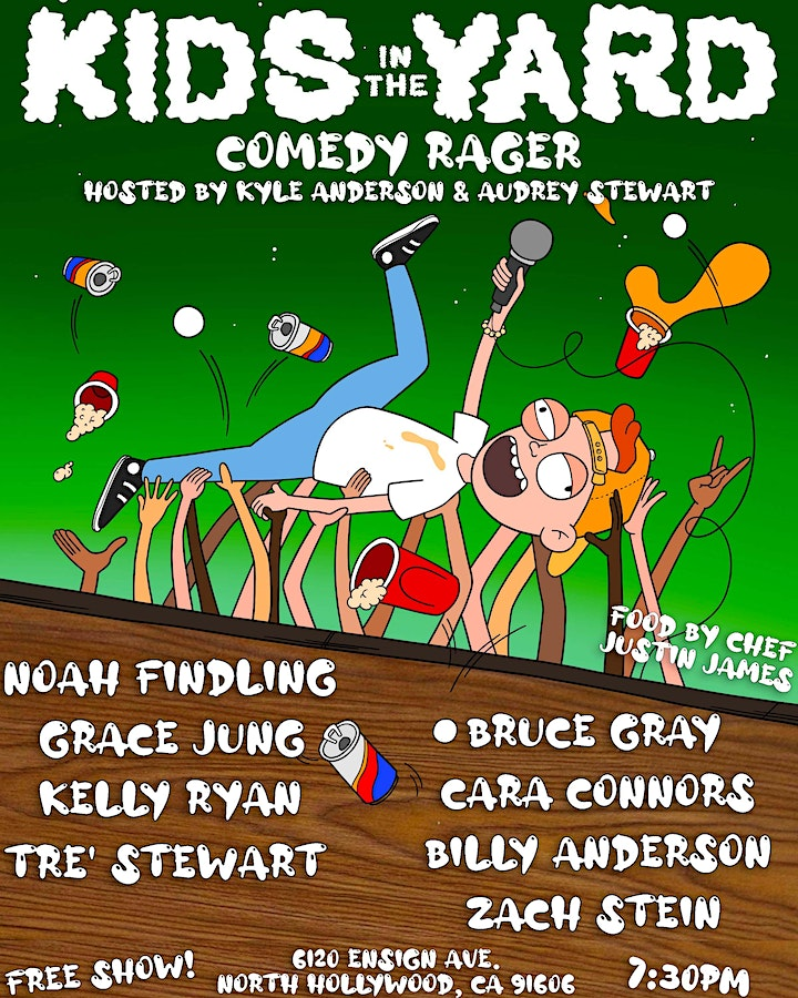 KIDS IN THE YARD Comedy Showcase 9/25 image