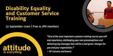 Disability Equality and Customer Service Training | Attitude is Everything tickets