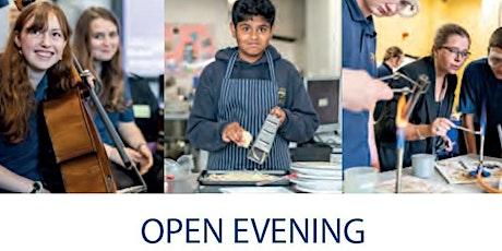 Main School Open Evening, Headteacher's Address - 7pm tickets