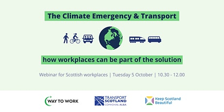 The Climate Emergency & Transport tickets