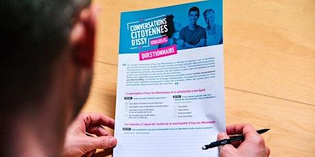 Conversations citoyennes d'Issy - Ateliers thématiques billets