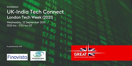 UK-India Tech Connect I London Tech Week (LTW) 2021 tickets