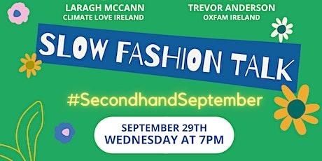 Slow Fashion #SecondhandSeptember tickets