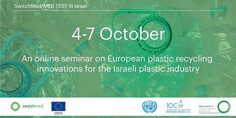 An online seminar on European plastic recycling innovations tickets