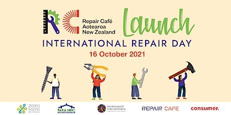 International Repair Day | Launch | Repair Café Aotearoa NZ tickets