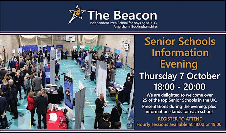 The Beacon Senior Schools Information Evening image
