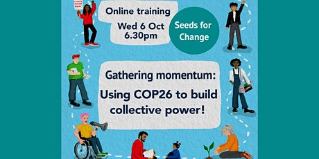 Gathering momentum: using COP26 to build collective power tickets