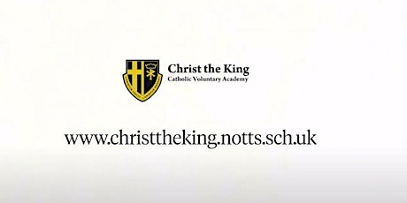 Christ the King Open Evening - Wednesday 29th September 2021 tickets