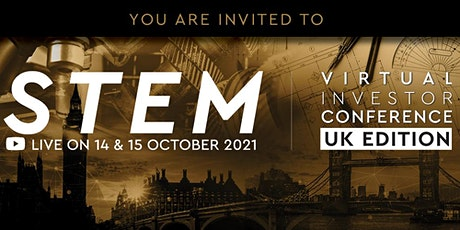 STEM Virtual Investor Conference UK by Wholesale Investor tickets