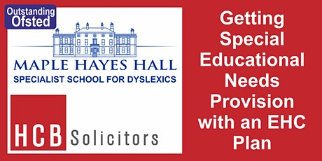 Getting Special Educational Needs Provision in Schools with an EHC Plan tickets
