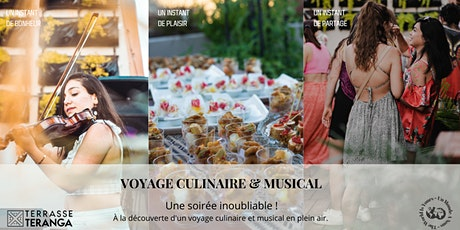 Terrasse Teranga - Voyage culinaire et musical billets