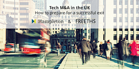 Tech M&A in the UK - How to prepare for a successful exit tickets