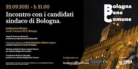 Incontro con i candidati sindaco di Bologna tickets