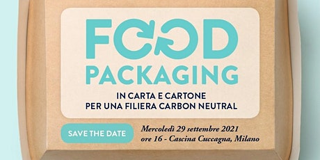 WEBINAR - Food Packaging in carta e cartone per una filiera carbon neutral Tickets