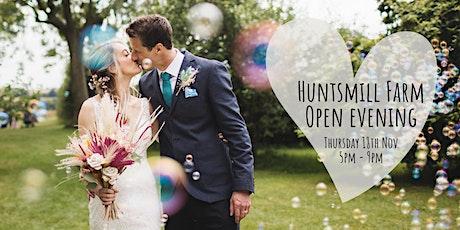 Huntsmill Farm November Open Evening tickets