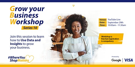 Visa Grow Your Business SME Workshop Series 10 tickets