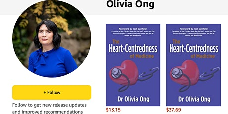 Authors in Conversation - Dr Olivia Ong tickets