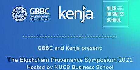 Blockchain Provenance Symposium entradas