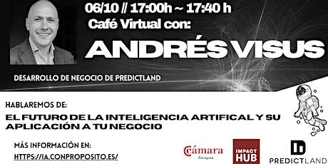 Hablemos de Inteligencia Artificial - con Andrés Visus boletos