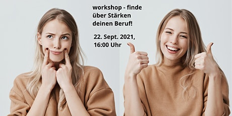 workshop - finde über Stärken deinen Beruf! Tickets