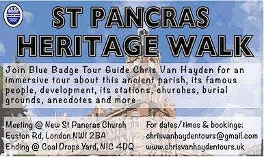 St Pancras Heritage Walk + Drinks tickets