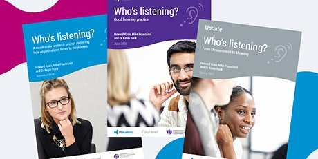 Who's Listening Focus Group - November 1 tickets