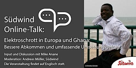 Südwind Online-Talk: Electronic Waste in Europe and Ghana tickets