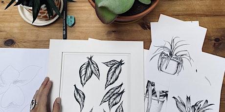 Plant Drawing Workshop in Battersea tickets