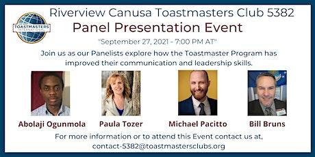 "Communication and Leadership Development Benefits ""Panel Presentation"" tickets"