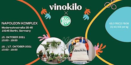Vinokilo X Pflanzen für Alle • Berlin Tickets