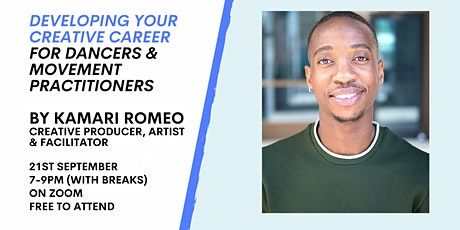 DanceFTF Early Careers Support presents: Developing Your Creative Career tickets