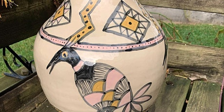 Workshop: Make an Acoma inspired pot tickets